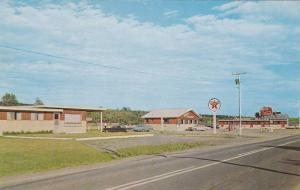 Greetings from Redwood Villa Motel & Restaurant, St. Leonard, N.B., Canada,  ...