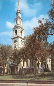 Providence Rhode Island~First Baptist Church~1950s Postcard