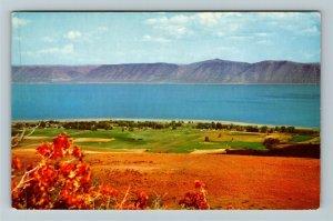 Bear Lake UT-Utah, Scenic View, Chrome Postcard