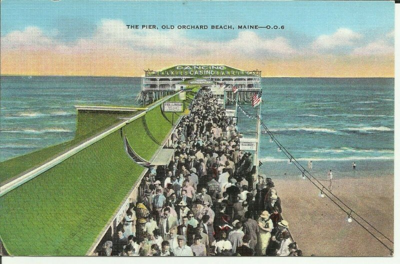 Old Orchard Beach Maine, The Pier