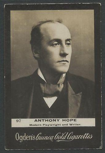 Ogden's Guinea Gold ANTHONY HOPE Cigarettes Card