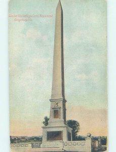 Divided-back MONUMENT SCENE Gettysburg Pennsylvania PA AE7809