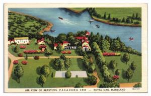 Pasadena Inn, Royal Oak, MD Postcard