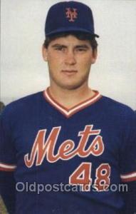 Baseball Postcard Mets Randy Myers, Pitcher