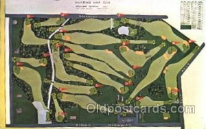 Westwood Gold Club Golf 1987 light crease right bottom corner, minor indentat...