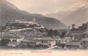 BELLINZONA SWITZERLAND col PIZZO CIARO~E GOETZ PHOTO POSTCARD 1900s