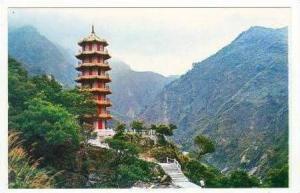 Taiwan, China, Tien-hsiang Buddhist Pagoda 50-60s