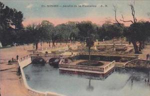 France Nimes Jardin de la Fontaine