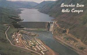 Brownlee Dam - Snake River - Hell's Canyon, Idaho