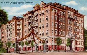 UT - Salt Lake City. Eagle Gate & Bransford Apartments