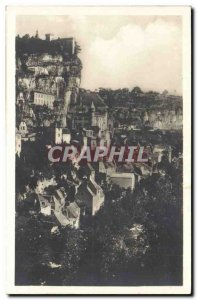 Rocamadour Old Postcard General West Coast View
