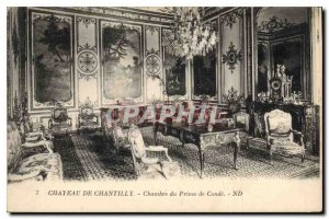Old Postcard Chateau de Chantilly Prince of Conde House