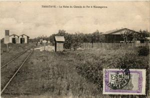 CPA Tamatave- La Halte du Chemin de Fer a Manangareza MADAGASCAR (819538)