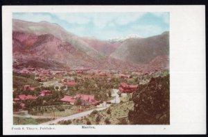 Colorado Panoramic View MANITOU - Und/B Vintage 1900s
