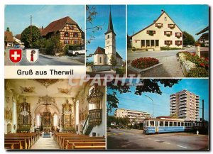 Postcard Modern Therwill