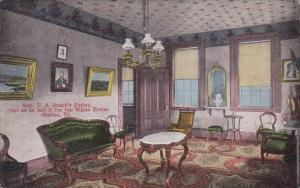 Gen U S Grants Parlor Just As He Left It For The White House Galena Illinois