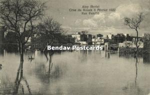 syria, ALEP ALEPPO, Floods of 1922, Crue du Kouek, Rue Familié 1922 Varjabédian