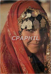 Postcard Modern Tunisia Douz Girl in Costume Fete