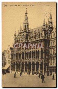 Old Postcard Brussels Maison Du Roi