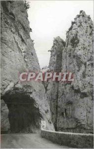 Postcard Modern Quillan (Aude) Haute Vallee de l'Aude Defile Pierre Lys gorges