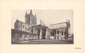 England Hereford Cathedral from the South East