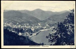 italy, ARENZANO, Panorama (1937)