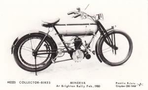 RP: Minerva Motorcycle at Brighton Rally , 1980