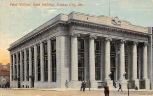 Kansas City MO~Beaux Arts Architecture~Ionic Columns~First National Bank 1911