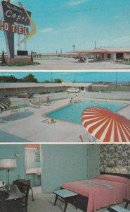 RT 66 ; TULSA , Oklahoma , 50-60s ; Western Capri Motel