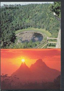 Mauritius Postcard - Trou-Aux-Cerfs: Situated in Curepipe    T4787