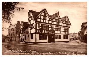 914  England Twekesbury  Bell Hotel