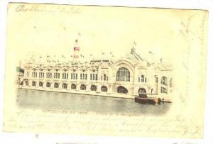 Palais De La Navigation, Exposition De 1900s, Paris, France, PU-1900