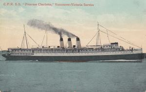 C.P.R. S.S. Princess Charlotte , VANCOUVER-VICTORIA Service , 00-10s