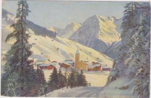 SWITZERLAND, PU-1924; Klosters, Ciba Company Advertisement, Lipoiodine