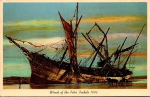 Oregon Clatsop Beach Wreck Of The Peter Iredale 25 October 1906