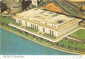 The John F. Kennedy Center Aerial View Panorama, Washington
