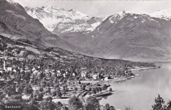 Switzerland Sachseln Totalansicht Photo