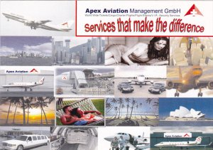 Apex Aviation Management GmbH Services ad , 1970-90s