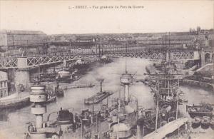 BREST, Vue generale du Port de Guerre, Finistere, France, 00-10s