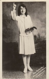 RP: God Bless You , Helen Campbell Evangelist , 1910s