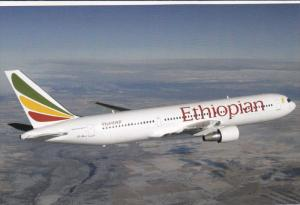Ethiopian Airlines Boeing 767-300 Jet Airplane , 80-90s