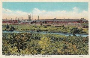 MASSILLON , Ohio , 1910s ; Republic Iron & Steel Company