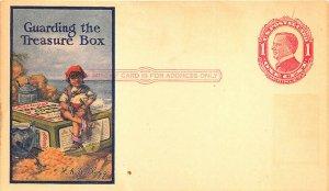 Allentown PA Postal Kellogg's Wrigley's Gum Multi-Images Postal Card