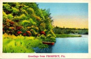 Pennsylvania Greetings From Prospect 1939