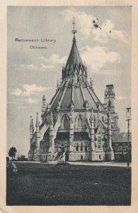 OTTAWA, Ontario, Canada, 1900-1910's; Parliament Library