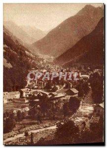 Old Postcard Cauterets Pyrenees Htes Nipple Verde View