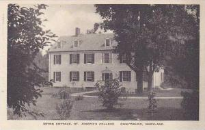 Maryland Emmitsburg Seton Cottage St Josephs College Albertype