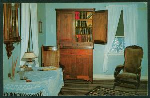 Restored Amana Home Iowa Sitting Room Interior IA Vintage Postcard