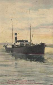 Messrs James Currie & Co. S.S. WEIMER, Leth-Hamburg Steamer , 1900-10s
