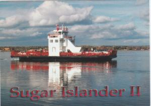 Ferry Boat Sugar Island II  , St Mary's River , Michigan , 60-80s